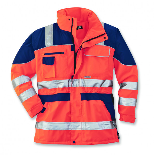 Warnschutz-Parka Safety Plus