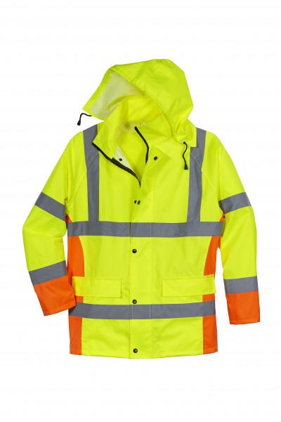 Warnschutz-Regenjacke