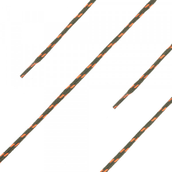 "Haix - Schnürsenkel ""Laces CrossNature olive-orange"""